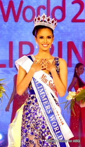 Megan Young of the Philippines