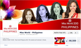 Megan Young places 4th in the Multimedia Challenge at Miss World 2013, congratulations and thanks to all of you who made comments on her FB page!!!