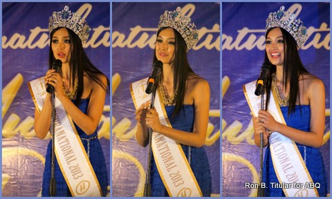 Miss Supranational 2013 Mutya Datul thanks everyone for their support!
