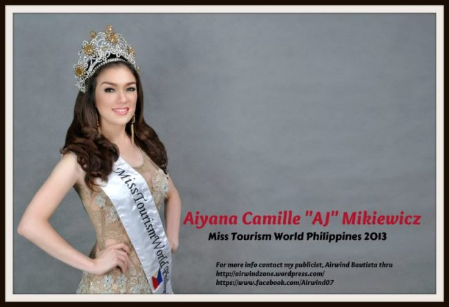 Aiyana Mikiewicz, Miss Tourism World Philippines 2013