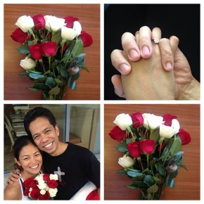 Congratulations Ardy Roberto and Miriam Quiambao on your engagement!