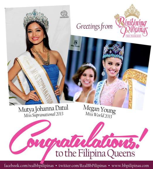 Found this poster on the Bb. Pilipinas official Facebook