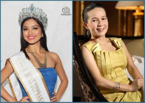 Miss Supranational 2013 Mutya Datul and Senator Grace Poe Llamanzares - they are accomplished Filipinas that we love and respect!