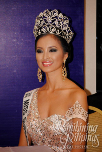 Mutya Datul is cited by the Senate for winning Miss Supranational 2013