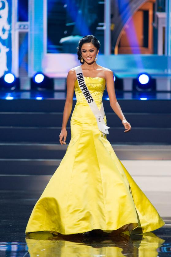 Ariella Arida in an 'Aquino yellow' Alfredo Barazza gown... could she have worn better?