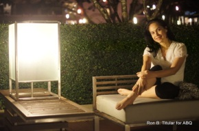 A quiet moment at the Le Meridien in Chiangrai...