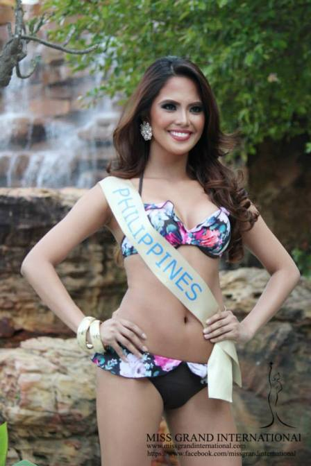 Ali Forbes in Top 20 Swimsuit Favorites of Miss Grand International 2013!