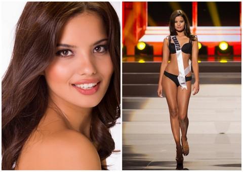 Melita Fabčeić of Croatia. I can see her on a billboard for Guess...