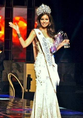 Miss Asia Pacific World 2013 is Shristi Rana of India!