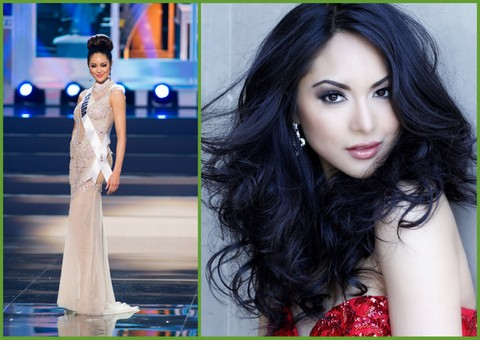 Riza Santos of Canada. If she and Ariella make it into the Top 5 (or even Top 16) it will be history in making...