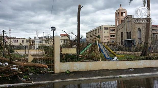Tacloban in the aftermath of typhoon Yolanda
