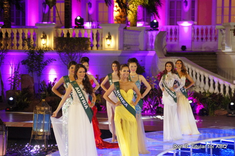 The Long Gown Competition of the Top 16 in Miss Earth 2013