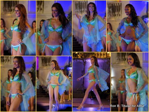 The Top 16 Miss Earth semifinalists parade in their  Ricky Abad bikinis that are to die for! Same descriptive for the physiques of these queens.