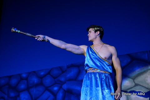 Bench Model Vince Ferraren as King Oedipus