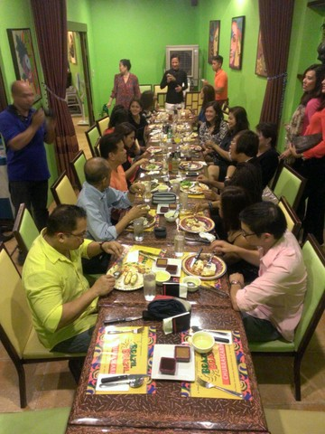 Mama Renee's party was held at 'Brazil' the buffet restaurant at Serendra, The Fort