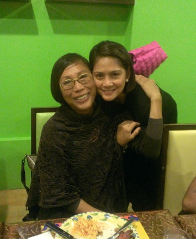 Mama Renee Salud with Patty Betita