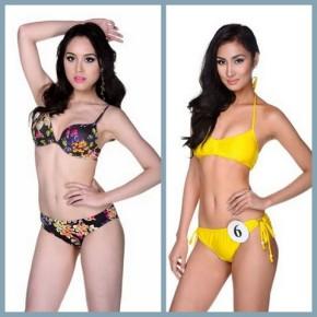 Carla Jenina Lizardo (left) and Aiza Faeldonia are called back to compete in Bb. Pilipinas 2014!