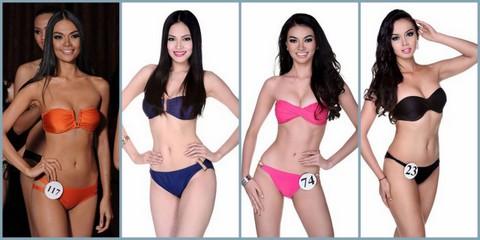 L-R - Ednornance Agustin, Nichole Marie Manalo, Emma Tiglao and Shauna Indra Curran