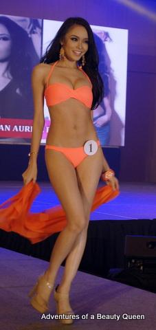 Bb. #1 Julian Aurine Flores -  23 yo - Manila