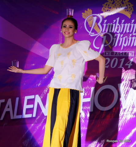 #3 Joana Romero performs the Binasuan