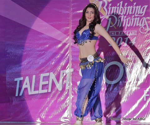 Bb. #37 Vanessa Saliba was last to perform and she wrapped up the show with a tight belly dance