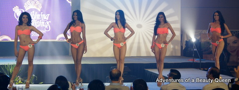Bb. Pilipinas 2014 Contestants 1 to 5