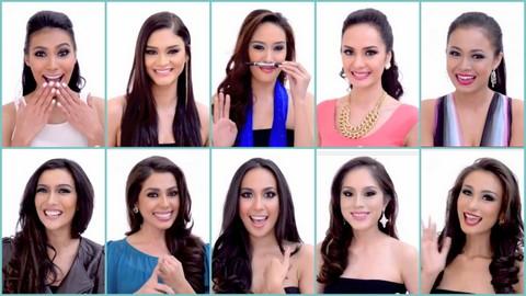 My favorite web interviews in Bb. Pilipinas 2014!