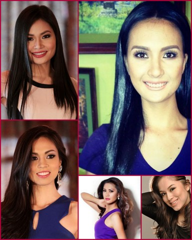 My Last 5 Girls - clockwise from top right - Nicole Marie Manalo, Kimverlyn Suiza, Carla Lizardo, Joy Gangan and Laura Lehmann