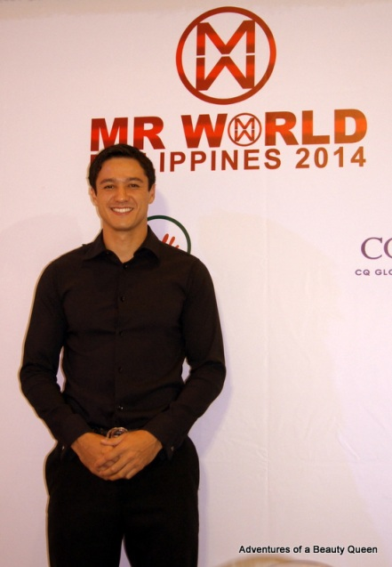 1) Andrew Wolff, Mr. World Philippines 2012 and Mr. World 2012 1st Runner-up