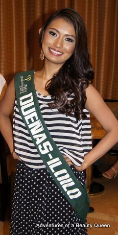 Ma. Bencelle Bianzon representing Duenas, Ilo-ilo