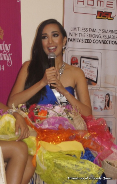 13) Bb. Pilipinas 2nd Runner-up Hannah Ruth Sison tackles questions.
