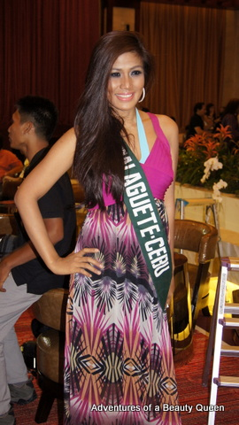 The sultry Pia Pialago, TV reporter turned pageant  babe.. representing Dalaguete, Cebu