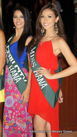 Top contenders in MPE 2014 - Jamie Herrel of Cebu (left) and Bianca Paz (right). Will they be the last 2 women standing on coronation night?