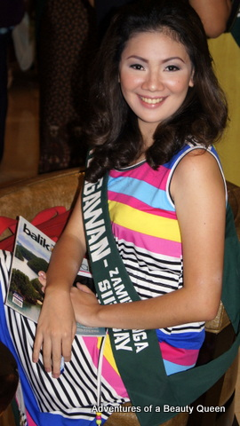 21) What a sweetheart! Cesdianne Daung from Tungawan, Zamboanga Sibugay