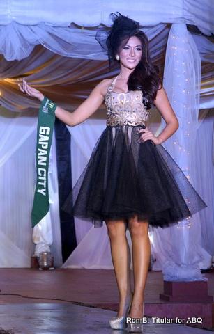 Bianca Paz representing Gapan City