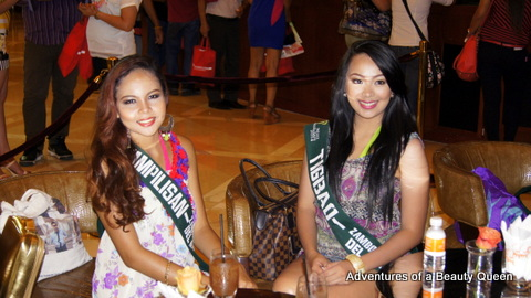 3) Phoebe Estoconing of Tampilisan (left) and Jennifer Kaye Allegro of Tigbao, Zamboanga del Sur