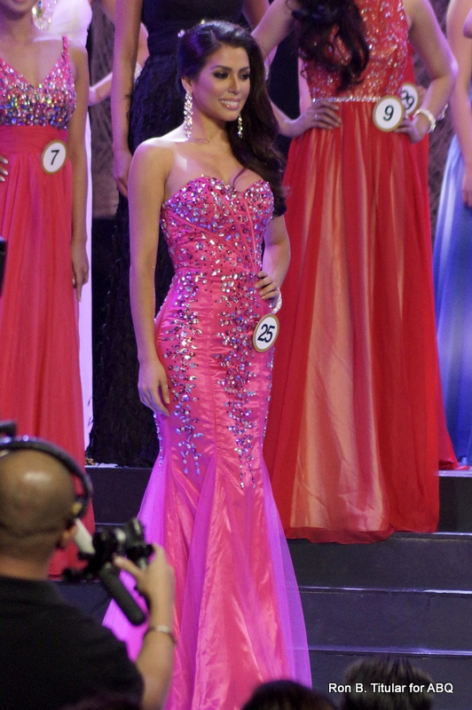 4) MJ Lastimosa was very relaxed during the competition. She moved effortlessly and impressed the crowd thoroughly.
