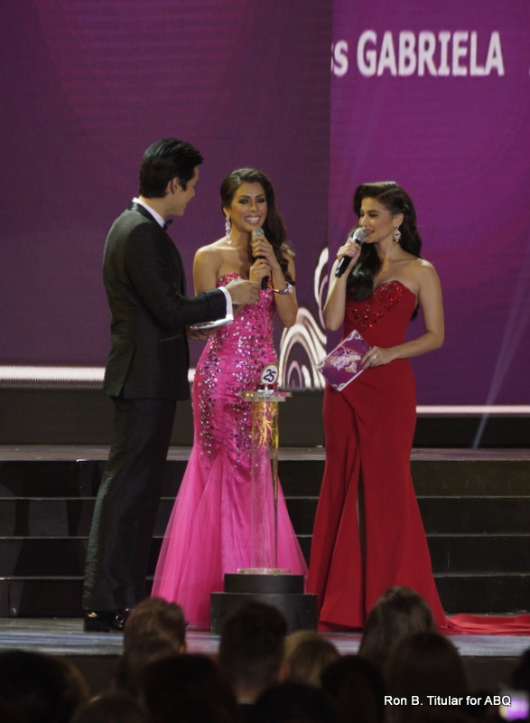 MJ Lastimosa during her Q&A portion...