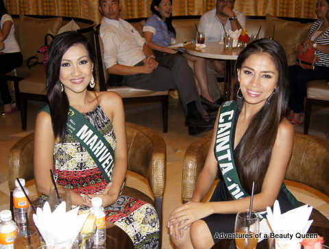 7) Jenn Kristel Gonzales of Mariveles, Bataan (left) and Cainta, Rizal rep Maria Jenny Feliz Gonzales.