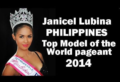 Janicel Lubina could very well give us our first international crown for 2014 so let's pray she gets her visa!