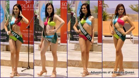 L-R - Janelle Tee (Davao City), Rosebel Bastasa (Jose Dalman, Zamboanga del Norte), Trixie Aira Hipolito (Kidapawan) and Phoebe Estoconing (Tampilisan)