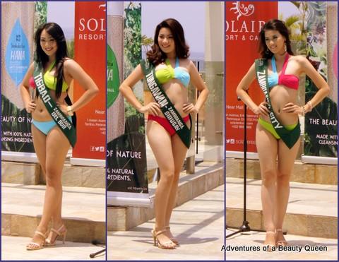 L-R - Jennifer Kaye Allegro (Tigbao, Zamboanga del Sur), Cesdianne Daung (Tungawan, Zamboanga Sibugay) and Margie Alatan (Zamboanga City)