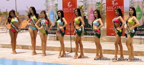 L-R - Pircelyn Pialago (Dalaguete), Kimberly Covert (Dumaguete), Crystal Star Aberasturi (Liloan), Hannah Marie Caayon (Mandaue), Janica Ella Honrade (Iloilo), Ma. Bencelle Bianzon (Duenas), Jamie Herrel (Cebu City)