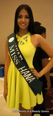 Mary Anne Ross Misa representing Makati at the Miss Philippines Earth 2014