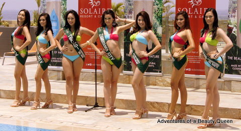 The 7 Mindanao Eco-Warriors in Miss Philippines Earth 2014