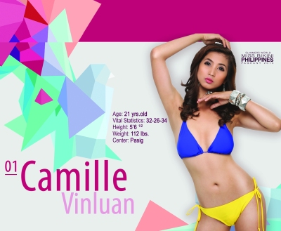 "1. Camille Vinluan - 21 yo - 5'8.5"" - Slimmers' Pasig"