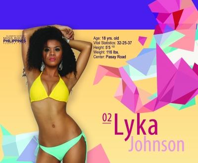 "2. Lyka Johnson - 18 yo - 5'5.5"" - Slimmers' Pasay"