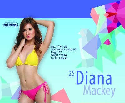 25. Diana Mackey