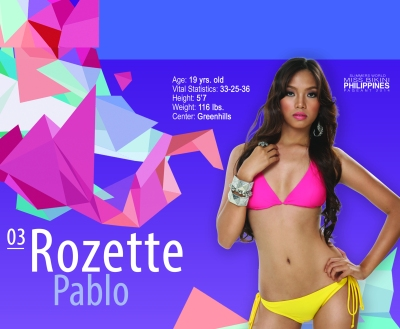 3. Rozette Pablo