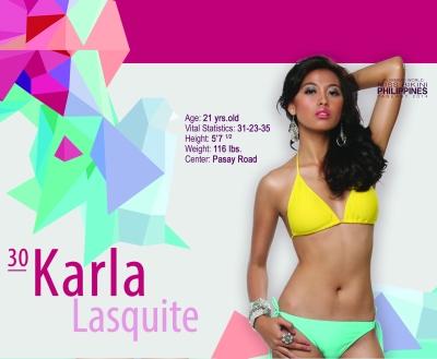 30. Karla Lasquite